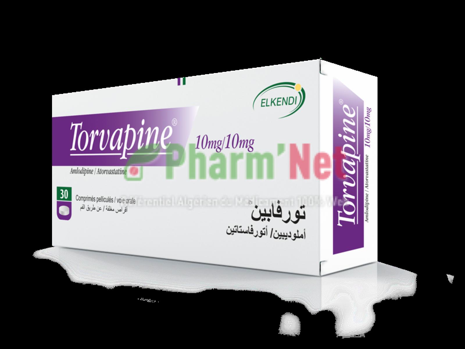 TORVAPINE 10MG/10MG COMP. PELLI. B/30 | PharmNet