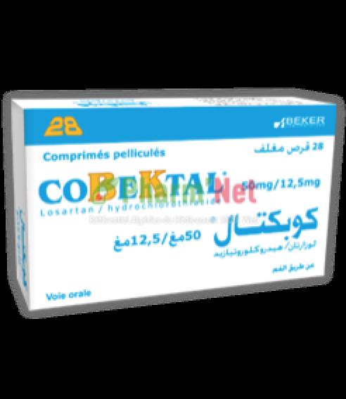 COBEKTAL 50MG/12,5MG COMP. PELLI. B/30   PharmNet